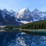 Urlaub, Reise, Inspiration, Moraine Lake