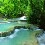 Map, Bucketlist, Inspiration, Kuang Si Wasserfall